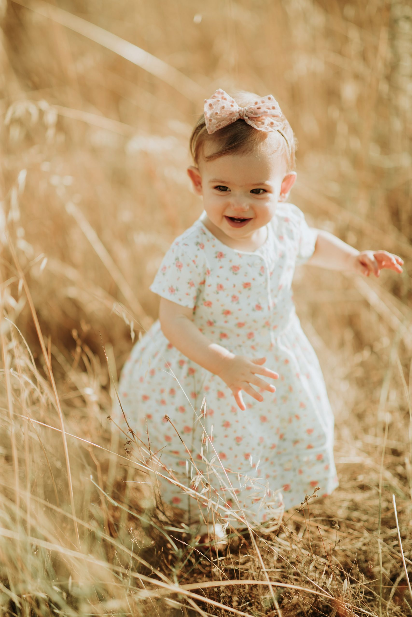 Kids photography in nature